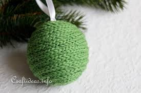 crafts green cording styrofoam ornament