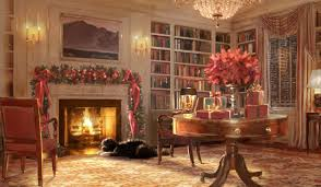 classic christmas house decoration wallpaper aqzh87 download