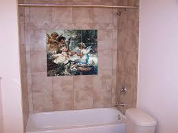 custom tile and tile murals angel art bathroom tile mural