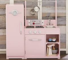 Walk In Play Kitchen by Pink All In 1 Retro Kitchen Pottery Barn Kids