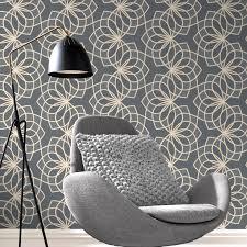 rasch wallpaper rasch spiro geometric dark grey glitter wallpaper 304022 bedroom