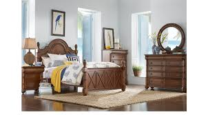 key west tobacco panel 7 pc king bedroom traditional