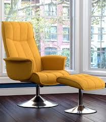 reclining back chair with ottoman sit back and relax in the stella rocker recliner and ottoman with a