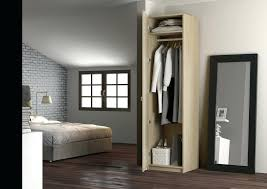 armoire colonne chambre design d intérieur model armoire de chambre adulte ton bois