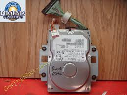 aficio 1224c genuine oem 40g hdd hard drive w software b1545950