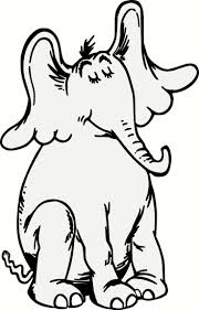 dr seuss coloring pages horton hatches the egg page new pages
