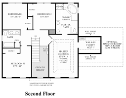 Center Hall Colonial Floor Plans High Pointe At St Georges Carolina Collection The Ellsworth