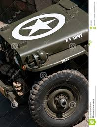 old jeep stock image image of type military transportation