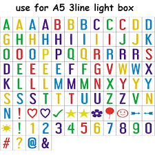 Letters For Home Decor Aliexpress Com Buy A5 Mini Cinema Lightbox With Letters For Home
