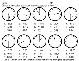 telling time assessment worksheet tune into telling time can t find substitution for tag