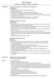 sle resume for business analyst role in sdlc phases system senior it business analyst resume sles velvet jobs