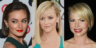 haircut for ling face with high cheek bones best bob for your face shape celebrity bob hairstyle