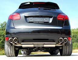 Porsche Cayenne 955 Exhaust - milltek cat back exhaust system cayenne turbo 958 u2013 flat 6