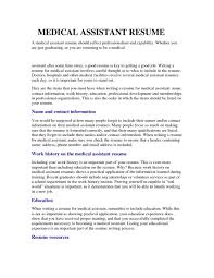 best medical assistant resumes for 2017 u2013 perfect resume format