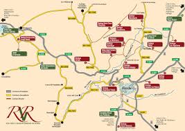 Andalucia Spain Map by Ronda Wines Winemaking In Malaga Andalucia Com