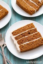 applesauce carrot layer cake baked by rachel