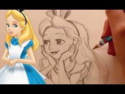 draw alice alice wonderland