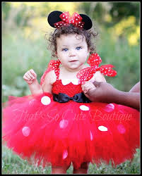 red minnie mouse tutu dress birthday costume