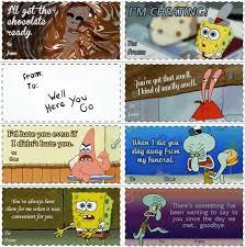 spongebob valentines day cards 21 best valentines day images on valentines