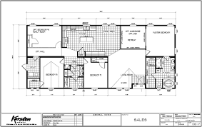 triple wide manufactured homes floor plans enchantment 3 bed 2 bath 2100 sqft affordable home for 99900