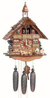 Chalet Style by Cuckoo Clock 8 Day Movement Chalet Style 44cm By Anton Schneider