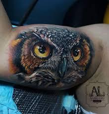 stunning owl tattoo inkstylemag