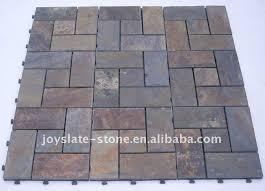 diy interlocking slate bathroom floor tile buy bathroom floor
