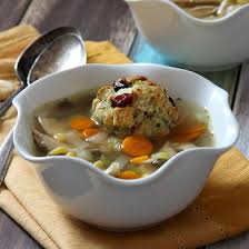 cooker turkey and dumpling soup baked by