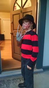 Kids Freddy Krueger Halloween Costume Freddy Krueger Makeup 4 Steps