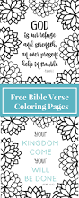 winter bible verse coloring coloring