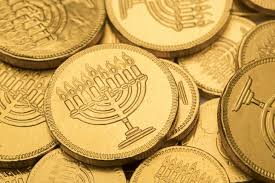 hanukkah chocolate coins the great chanukah gelt drop and menorah lighting jewishboston