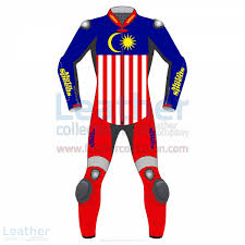 Maylasia Flag Shop Now Malaysia Flag Leather Motorbike Suit By Motospeeds By Moto Sp