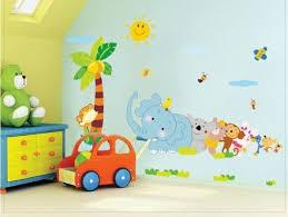 stickers animaux chambre bébé la peinture chambre bébé 70 idées sympas