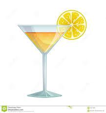 orange martini recipe cocktail with lemon stock illustration image of freshness 56217983