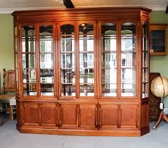 mahogany china cabinet furniture mahogany display cabinet with bevelled glass corwell