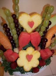 fruit carving vegetable carving garnishes and edible