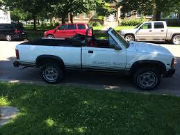 Dodge Dakota Trucks - rare dodge dakota convertible pickup truck lamoka ledger