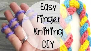 how to finger knit episode 80 youtube