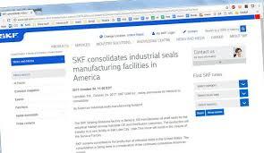 computer engineering seneca a huge blow u0027 skf to close seneca factory eliminating 170 jobs