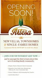 brand new homes in south miami by lennar artesia single family