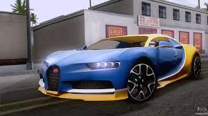 bugatti chiron 2017 bugatti chiron 2017 v2 5 for gta san andreas