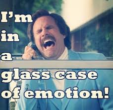 Glass Case Of Emotion Meme - i really really love anchorman more than i love l and afternoon