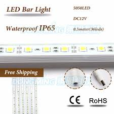 Waterproof Led Light Bar 12v by Compare Prices On Led Rigid Strips Online Shopping Buy Low Price