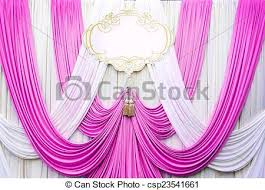 wedding backdrop graphic stock photo white and pink curtain backdrop background stock