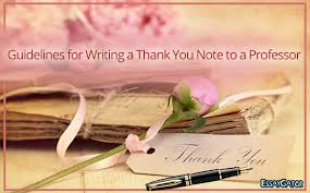 6 answers how to write a thank you note to a professor quora