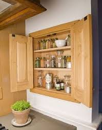 Kitchen Cabinet Blueprints by Clever Outside The Rack Spice Storage Ideas Spice Shelf