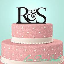 online get cheap monogram letter cake topper aliexpress com