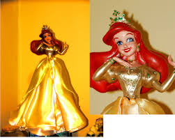 Christmas Tree Toppers Disney by Ariel Tree Topper By Lasirenofeire On Deviantart