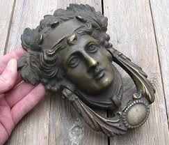 decorative door knockers antique door knockers and door bells collection on ebay