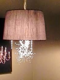 Shade Pendant Light Diy Drum Shade Pendant Light Bell